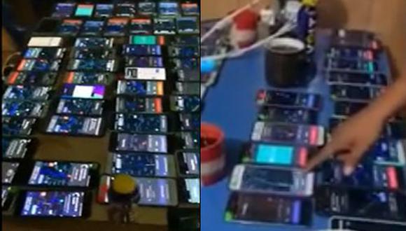 Supuestos choferes manipulaban el GPS del celular para simular carreras.