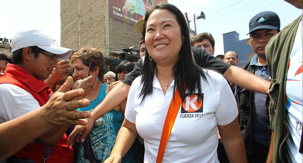Keiko Fujimori durante la campaña presidencial del 2011. (Foto: Lino Chipana / Archivo GEC)