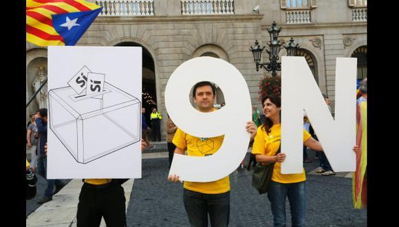 Cataluña convoca para el 9 de nov. su consulta independentista