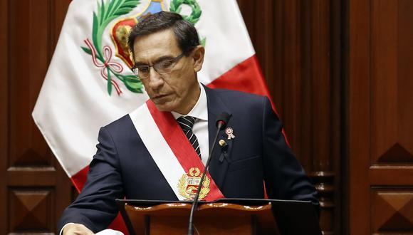 Deberá esperarse que la presentación del jefe del Gabinete despeje las numerosas dudas que plantea la idea del pacto que sugiere Vizcarra. (Foto: Presidencia)