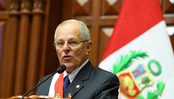 El presidente PPK cerrará su primer año de gobierno con un mensaje a la nación en el Congreso de la República. (Foto: Presidencia)