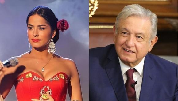 Danna García se pronunció en Twitter luego que Andrés Manuel López Obrador dio positivo a COVID-19. (Foto: @dannagarciao/@lopezobrador)