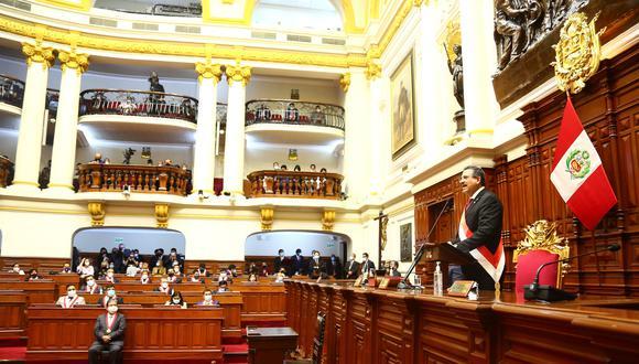 La ANGR consideró que Merino es el responsable político de los hechos de violencia ocurridos el último sábado. (Foto: Congreso)