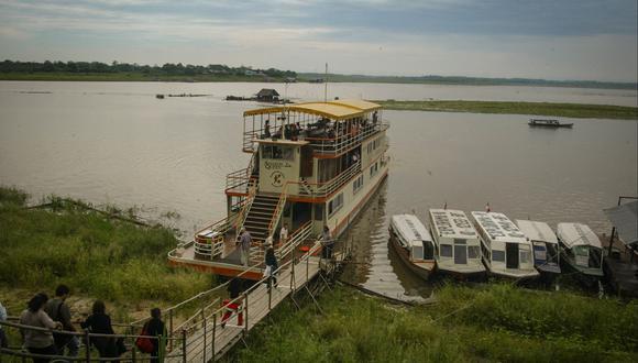 El Amazonas cuenta con aproximadamente 500 ríos afluentes navegables.(Foto: Archivo El Comercio)