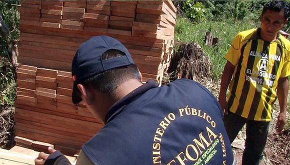 Ucayali: investigan a autoridades y maderero por tala ilegal