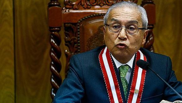 Pedro Chávarry es fiscal supremo del Ministerio Público y ha ocupado el cargo de Fiscal de la Nación (Foto: GEC)