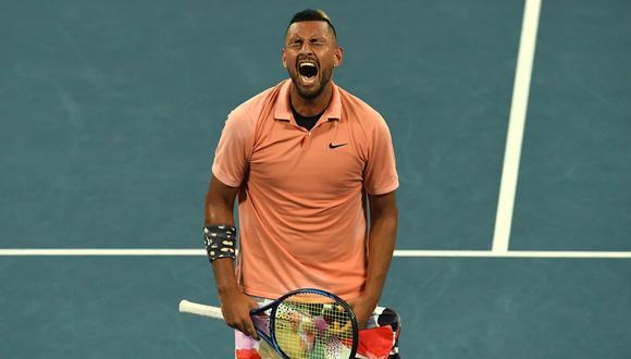 Nick Kyrgios, el 'bad boy' del tenis. (Foto: AFP)