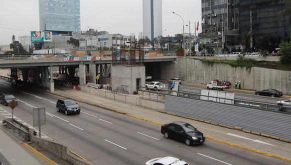La Municipalidad de Lima construye la estación Andrés Reyes, en San Isidro. (Difusión)