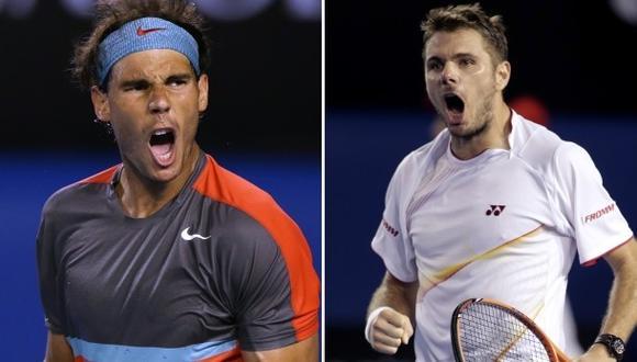 Nadal vs. Wawrinka: hora y transmisión de la final de Australia