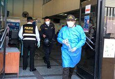 Arequipa: 150 policías infectados con el COVID-19 por cumplir su labor