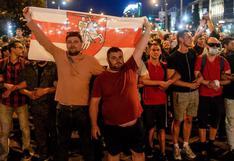 Muere un manifestante durante nueva jornada de protestas en Bielorrusia | FOTOS