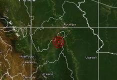 Huánuco: sismo de magnitud 4,5 se reportó en Puerto Inca, señala IGP