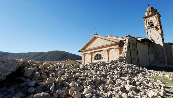 Terremoto de 6,5 grados azota el centro de Italia