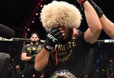 UFC 254: Khabib sometió con autoridad a Gaethje y retuvo exitosamente su título [RESUMEN]