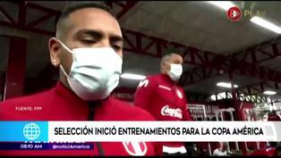 Selección Peruana inició sus entrenamientos en la Videna de cara a la Copa América