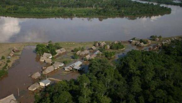 Se incrementa caudal del río Huallaga debido a fuertes lluvias. (Foto: referencial)