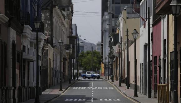 El Ejecutivo extendió la cuarentena en Lima y otras regiones consideradas con nivel extremo de alerta sanitaria hasta el 28 de febrero | Foto: GEC