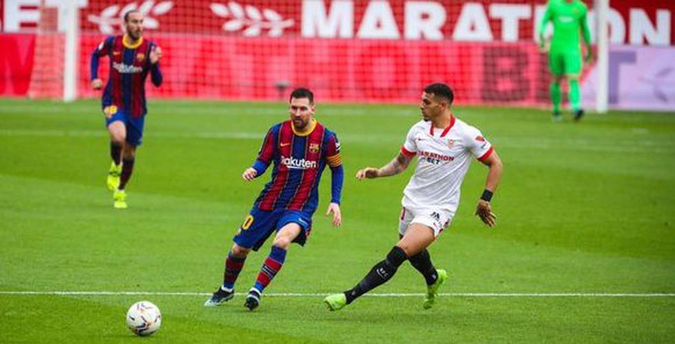Barcelona vs. Sevilla (Twitter)