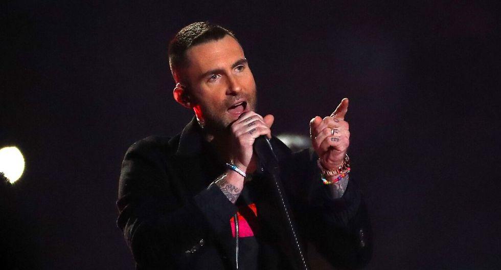 Adam Levine es el vocalista de Maroon 5. (AFP)