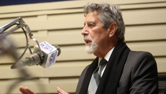 """Presidente Francisco Sagasti calificó de """"crimen"""" que existan personas que hayan cuestionado efectividad de vacunas contra el COVID-19. (Foto: Presidencia del Perú)"""