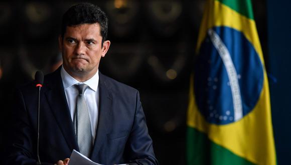 Brasil: Abogados piden destituir al ministro de Justicia Sergio Moro por conversaciones con fiscales para perjudicar a Lula da Silva. (AFP).