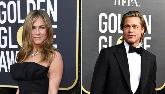 """Jennifer Aniston sobre reencuentro con Brad Pitt: """"Fue una locura""""  (Foto: AFP)"""