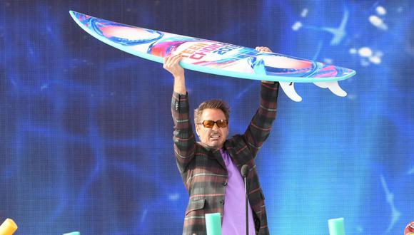 """Robert Downey Jr. también recibió un galardón por su papel como Tony Stark en """"Avengers: Endgame"""": (Foto: AFP)"""