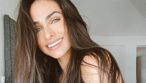 Rnata Notni es una actriz y modelo mexicana, quien obtuvo su debut interpretando a Andrea en Código postal (Foto: Instagram de Renata Notni)