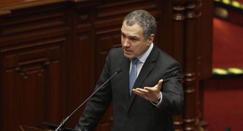 El primer ministro, Salvador del Solar, sustentó el proyecto de ley del Presupuesto 2020 ante el Congreso. (Foto: GEC)