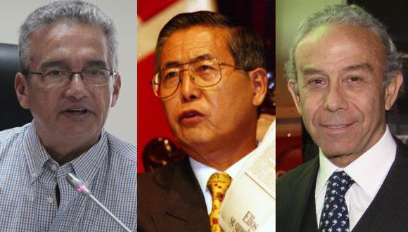 El ex presidente Alberto Fujimori y sus ex ministros de Salud Alejandro Aguinaga y Marino Costa Bauer quedaron exentos de responsabilidad penal. (Fotos: El Comercio)
