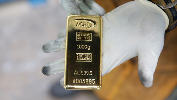 Los futuros del oro en Estados Unidos retrocedían un 0,3% a US$ 1.844,90. (Archivo / Reuters)
