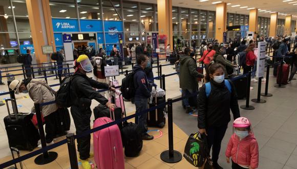 Los vuelos al interior del país se retomaron el 15 de julio, tras la aprobación del MTC. (Foto: GEC / Renzo Salazar)