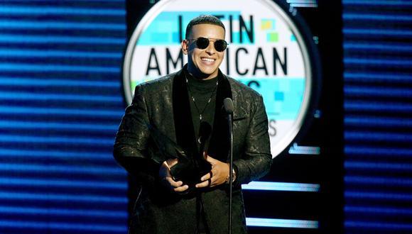 Daddy Yankee en los Latin American Music Awards 2018. (Foto: Agencias)