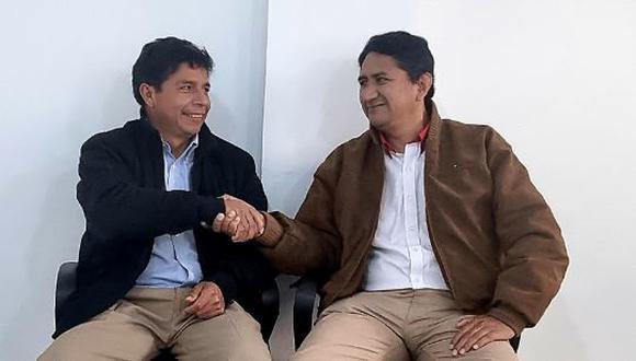 """""""El pueblo ha llevado al gobierno a un verdadero hijo del pueblo"""", escribió Cerrón. (Foto: Twitter)"""