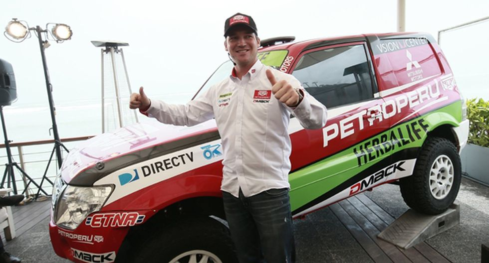Fuchs presentó el coche en el que correrá el Desafío Inca