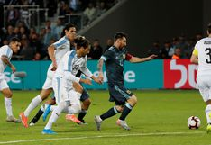 Lionel Messi y la descomunal acción en la que apiló a cinco rivales en el Argentina vs. Uruguay en Tel Aviv | VIDEO