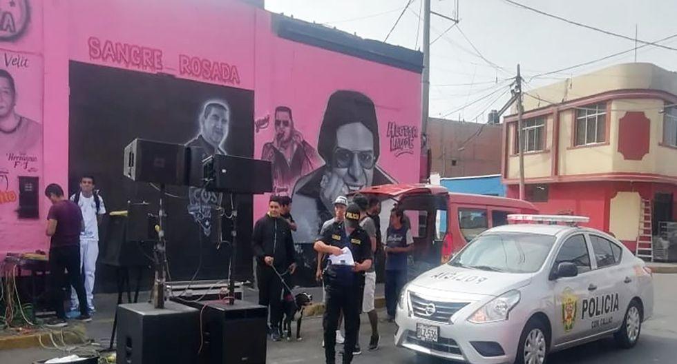 El municipio del Callao impidió la realización de un concierto de salsa en el jirón Atahualpa. (Facebook)