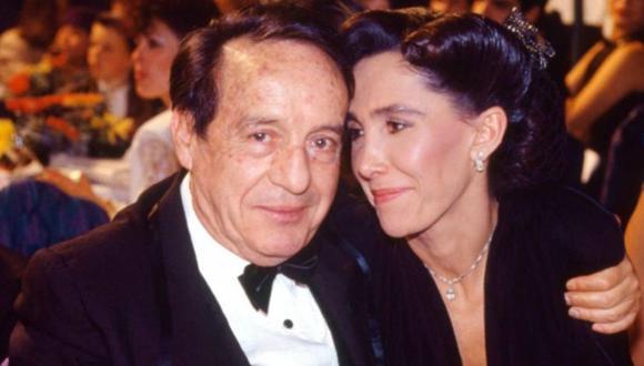 Roberto Gómez Bolaños y Florinda Meza se casaron en 2004 luego de más de 30 años juntos. (Foto: Instagram)