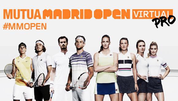 Mutua Madrid Open Virtual: empiezan los cuartos de final con Ferrer, Murray y Tsitsipas a la cabeza