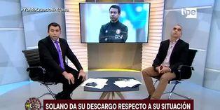 """Nolberto Solano: """"Mil disculpas y reconozco mi error"""""""