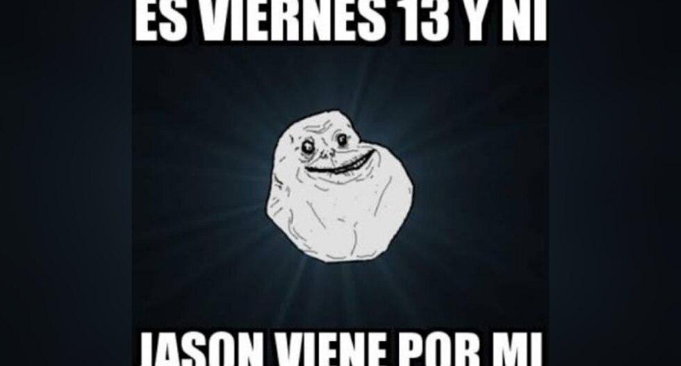 No pararás de reír con los memes alusivos al Viernes 13, especialmente los protagonizados por el malvado 'Jason'. (Foto: Twitter/Facebook)