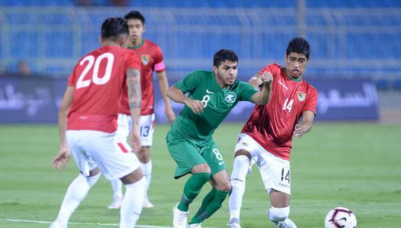 Bolivia vs. Arabia Saudita EN VIVO ONLINE: amistoso por la fecha FIFA. (Foto: Twitter)