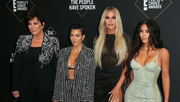 """Keeping Up with the Kardashians"" es el título de este reality show que se estrenó en el canal E! el 14 de octubre de 2007 (Foto: AFP)"