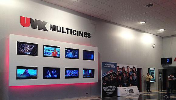 UVK Multicines abrirá dos complejos en Lima en el 2015