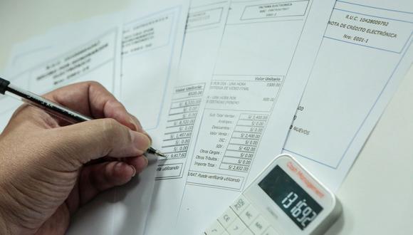 El mercado de facturas negociables caería ligeramente este año. (Foto: Diana Chávez   GEC)