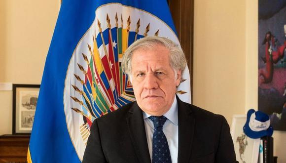 El secretario general de la Organización de los Estados Americanos (OEA), Luis Almagro. (Foto: EFE)