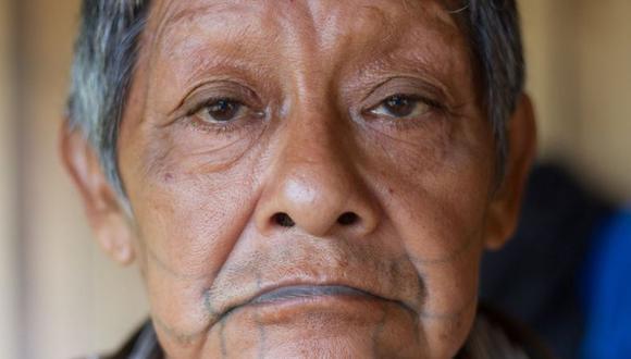 Se estima que Aruká tenía entre 86 y 90 años. (GABRIEL UCHIDA/KANINDÉ).