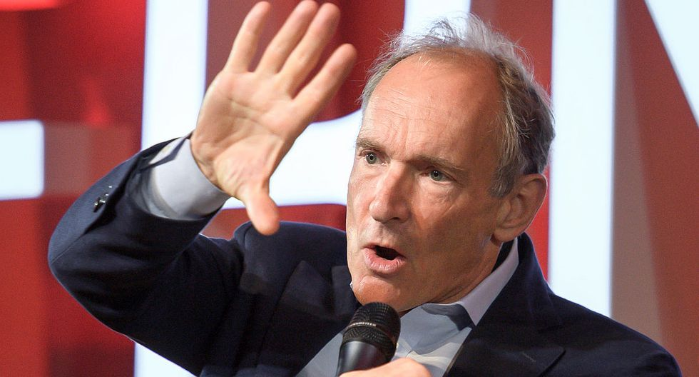 Tim Berners-Lee, padre de la World Wide Web. (Foto: AFP)