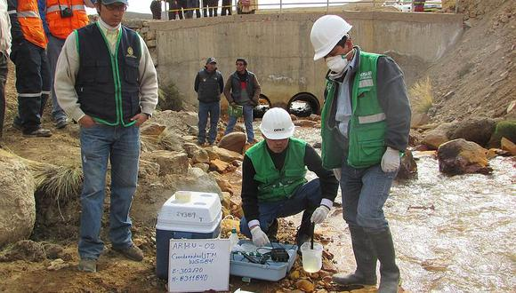 El río Coata es contaminado desde hace varios años por la actividad minera informal. (Foto: GEC)