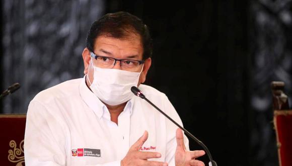 El ministro de Agricultura fue designado en el cargo el 3 de octubre del 2019. Su sector informó que se recupera tras ser diagnosticado de coronavirus (Foto: Minagri)